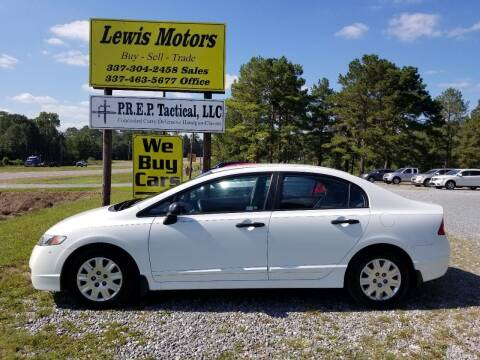 2011 Honda Civic for sale at Lewis Motors LLC in Deridder LA