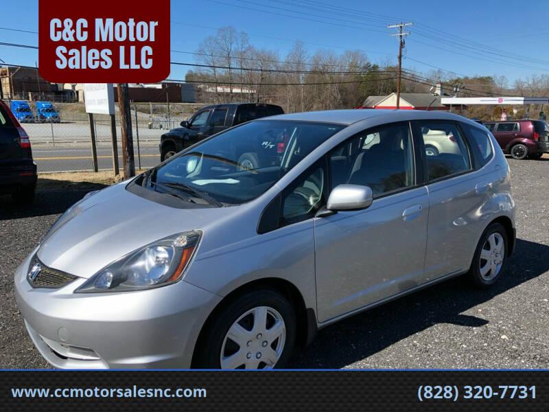 2012 Honda Fit for sale at C&C Motor Sales LLC in Hudson NC