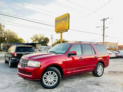 2014 Lincoln Navigator for sale at Grand Auto Sales in Tampa FL