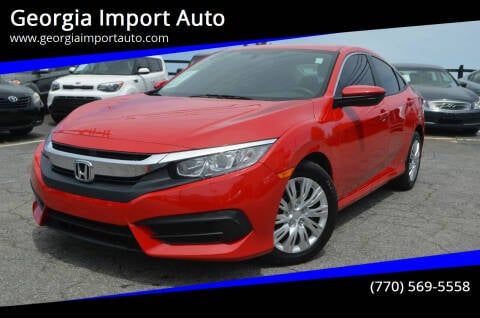 2018 Honda Civic for sale at Georgia Import Auto in Alpharetta GA