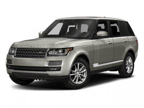 2017 Land Rover Range Rover for sale at Distinctive Car Toyz in Pleasantville NJ