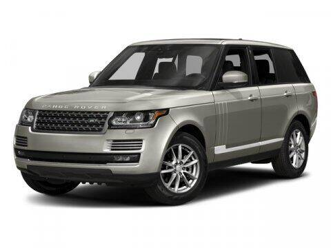 2017 Land Rover Range Rover for sale at Acadiana Automotive Group in Lafayette LA