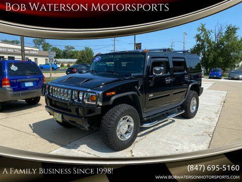 2003 HUMMER H2 for sale at Bob Waterson Motorsports in South Elgin IL