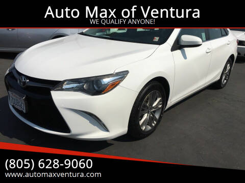 2017 Toyota Camry for sale at Auto Max of Ventura in Ventura CA