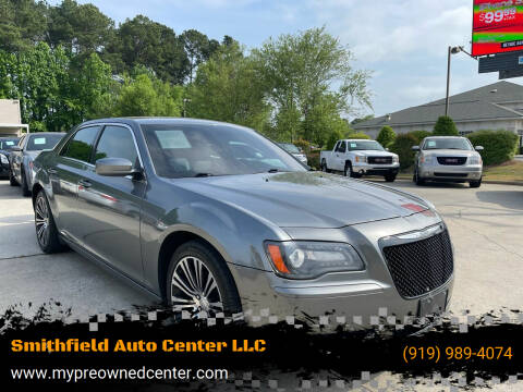 2012 Chrysler 300 for sale at Smithfield Auto Center LLC in Smithfield NC
