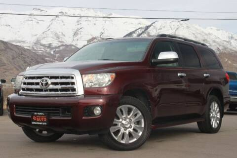 2010 Toyota Sequoia for sale at REVOLUTIONARY AUTO in Lindon UT