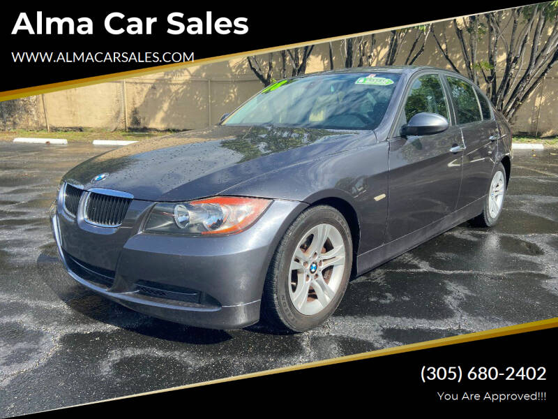 2008 BMW 3 Series for sale at Alma Car Sales in Miami FL