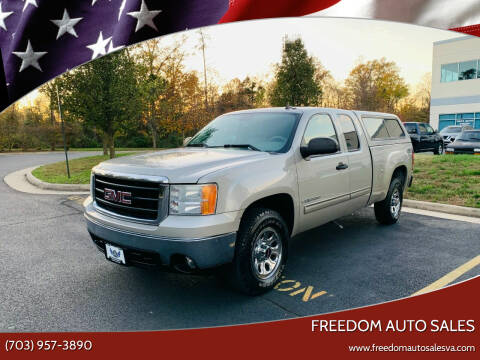 2007 GMC Sierra 1500 for sale at Freedom Auto Sales in Chantilly VA