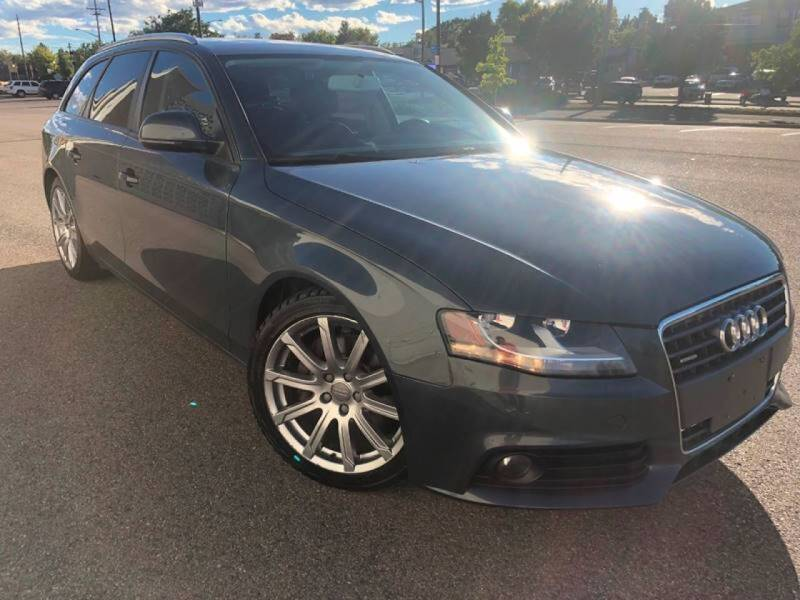 2009 Audi A4 for sale at Zapp Motors in Englewood CO