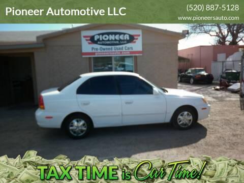 2003 Hyundai Accent for sale at Pioneer Automotive LLC in Tucson AZ