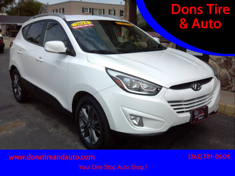 2015 Hyundai Tucson for sale at Dons Tire & Auto in Butler WI