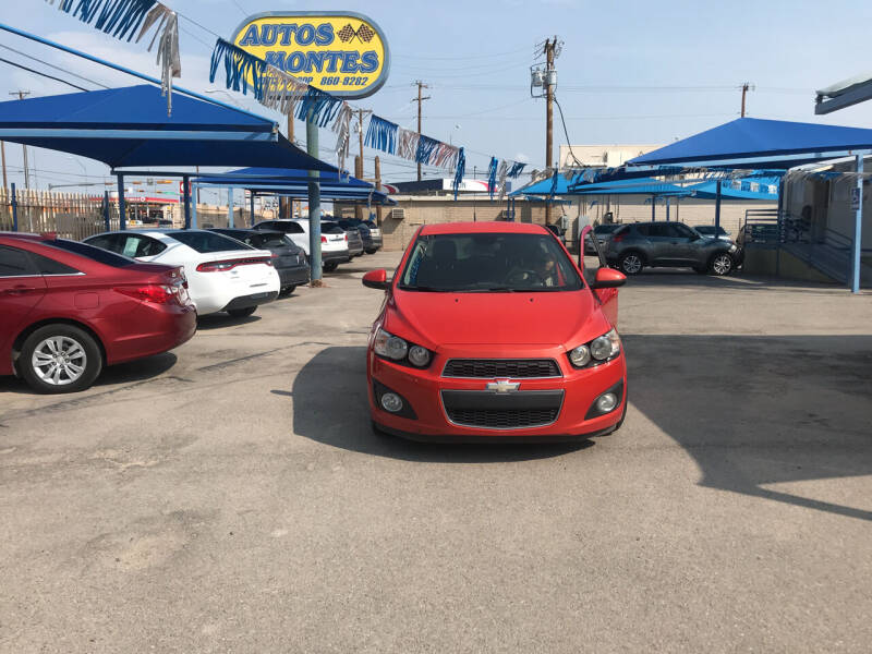 2013 Chevrolet Sonic for sale at Autos Montes in Socorro TX