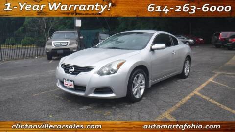 2012 Nissan Altima for sale at Clintonville Car Sales - AutoMart of Ohio in Columbus OH