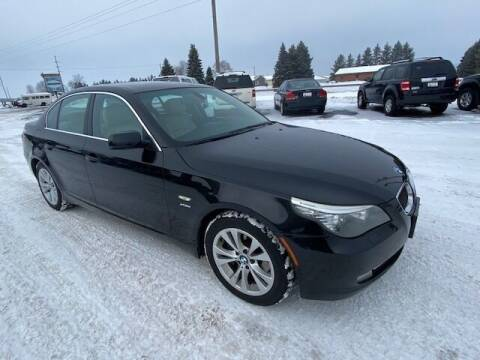 2010 BMW 5 Series for sale at Osceola Auto Sales and Service in Osceola WI