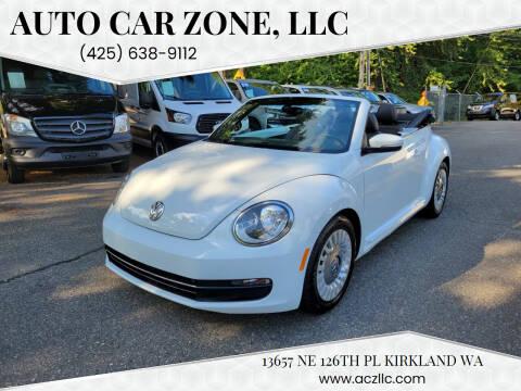2016 Volkswagen Beetle Convertible for sale at Auto Car Zone, LLC in Kirkland WA