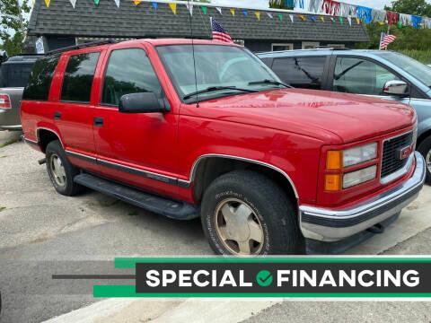 1999 GMC Yukon for sale at Heely's Autos in Lexington MI