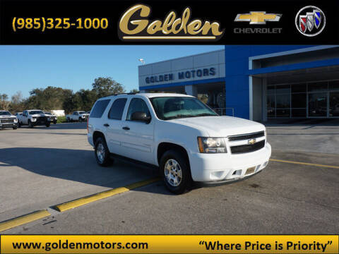 2009 Chevrolet Tahoe for sale at GOLDEN MOTORS in Cut Off LA