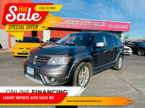 2013 Dodge Journey for sale at LUXURY IMPORTS AUTO SALES INC in North Branch MN