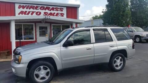 2008 Chevrolet TrailBlazer for sale at WIREGRASS AUTO SALES in Dothan AL