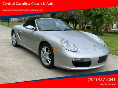 2005 Porsche Boxster for sale at Central Carolina Coach & Auto in Lenoir NC