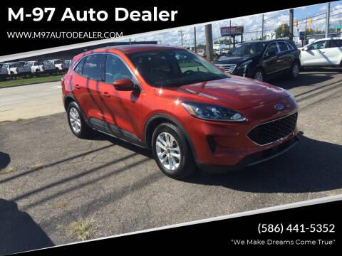 2020 Ford Escape for sale at M-97 Auto Dealer in Roseville MI