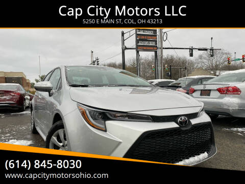 2020 Toyota Corolla for sale at Cap City Motors LLC in Columbus OH