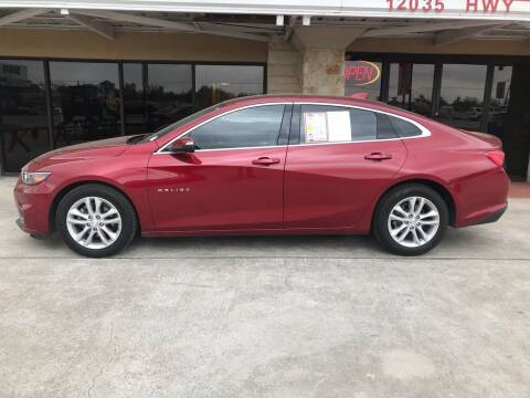 2018 Chevrolet Malibu for sale at FREDYS CARS FOR LESS in Houston TX