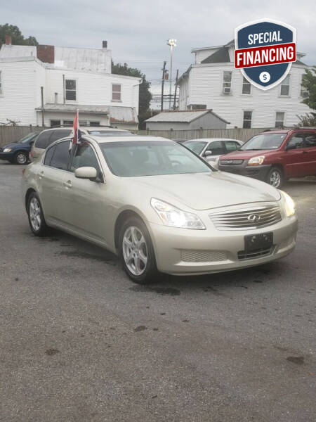 2007 Infiniti G35X for sale at SERENITY AUTO OUTLET in Frederick MD
