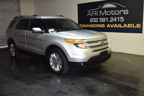 2015 Ford Explorer for sale at ARI Motors in Houston TX