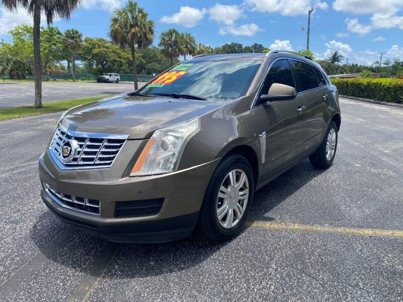 2014 Cadillac SRX for sale at Lamberti Auto Collection in Plantation FL