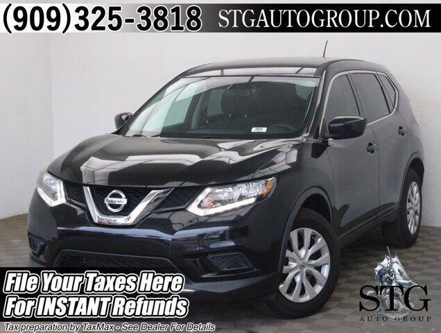 2016 Nissan Rogue for sale at STG Auto Group in Montclair CA