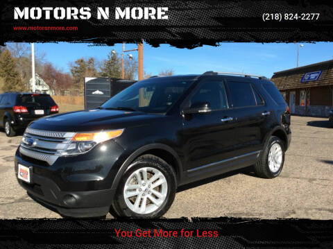 2014 Ford Explorer for sale at MOTORS N MORE in Brainerd MN