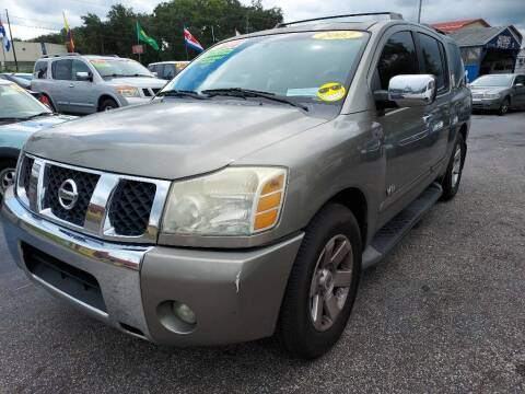 2007 Nissan Armada for sale at AUTO IMAGE PLUS in Tampa FL