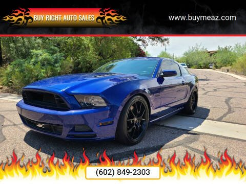 2013 Ford Mustang for sale at BUY RIGHT AUTO SALES 2 in Phoenix AZ