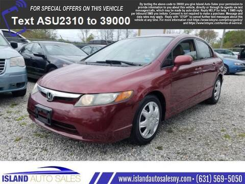 2007 Honda Civic for sale at Island Auto Sales in E.Patchogue NY