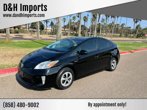 2012 Toyota Prius for sale at D&H Imports in San Diego CA