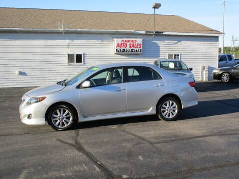 2009 Toyota Corolla for sale at Plainfield Auto Sales, LLC in Plainfield WI