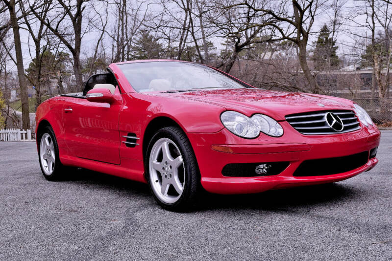 2003 Mercedes-Benz SL-Class for sale at Bill Dovell Motor Car in Columbus OH