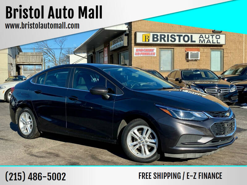 2017 Chevrolet Cruze for sale at Bristol Auto Mall in Levittown PA