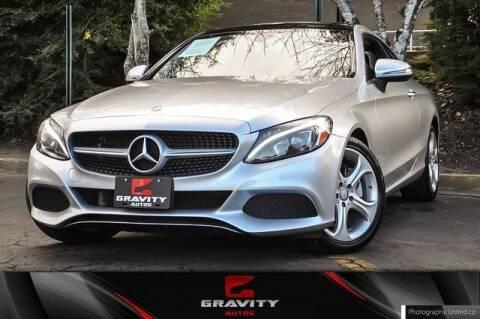 2017 Mercedes-Benz C-Class for sale at Gravity Autos Atlanta in Atlanta GA