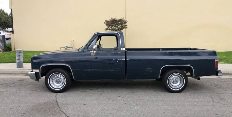 1986 Chevrolet C/K 10 Series for sale at HIGH-LINE MOTOR SPORTS in Brea CA