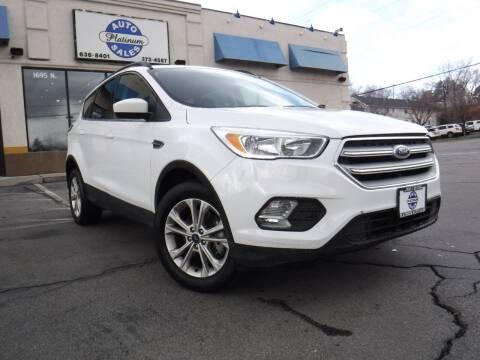 2018 Ford Escape for sale at Platinum Auto Sales in Provo UT