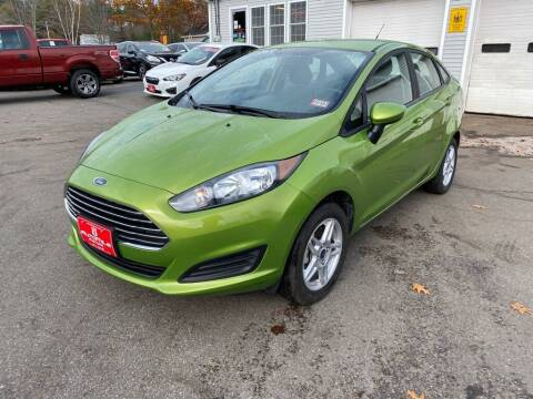 2019 Ford Fiesta for sale at AutoMile Motors in Saco ME