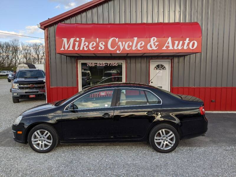 2007 Volkswagen Jetta for sale at MIKE'S CYCLE & AUTO in Connersville IN