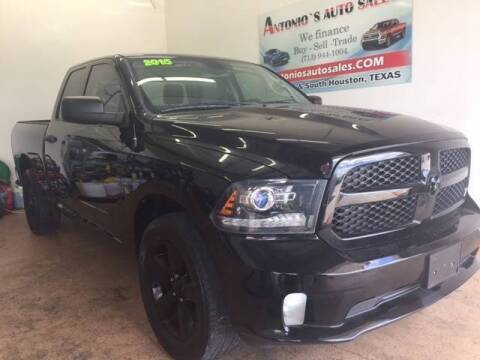 2015 RAM Ram Pickup 1500 for sale at Antonio's Auto Sales in South Houston TX