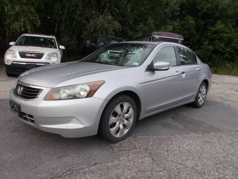 2008 Honda Accord for sale at Manchester Motorsports in Goffstown NH