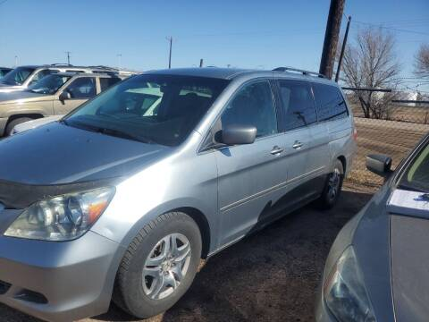 2007 Honda Odyssey for sale at PYRAMID MOTORS - Fountain Lot in Fountain CO