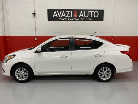 2018 Nissan Versa for sale at AVAZI AUTO GROUP LLC in Gaithersburg MD