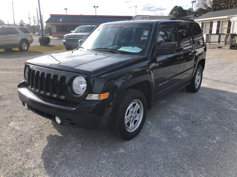 2014 Jeep Patriot for sale at Robert Sutton Motors in Goldsboro NC