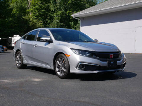 2019 Honda Civic for sale at Canton Auto Exchange in Canton CT